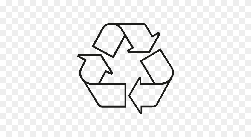 White Recycle Logo Png, Free Recycle Logo Png, Download Free Clip - Recycle Logo PNG
