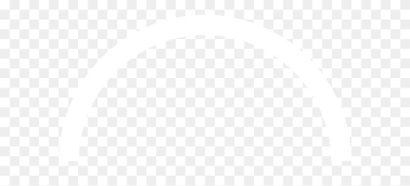 White Semi Circle Clip Art - Semi Circle PNG