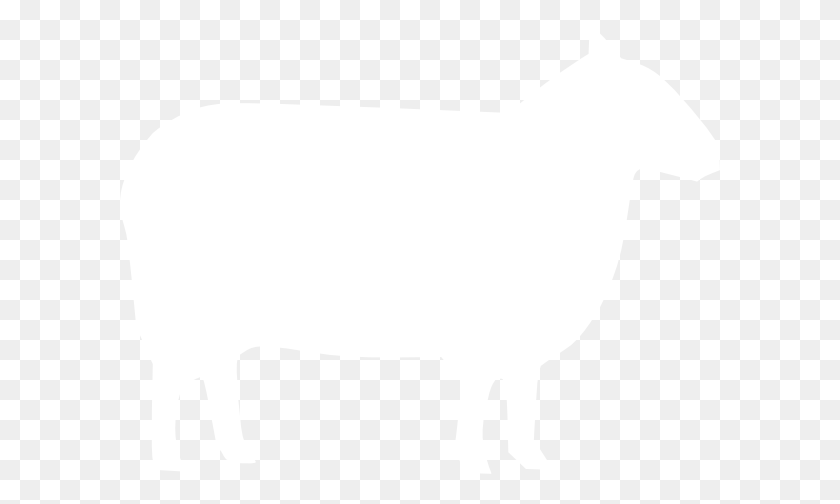 White Sheep Clip Art - Sheep Clipart Black And White