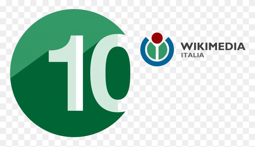 Wikimedia Italia Anniversary Logo Hi - Anniversary PNG