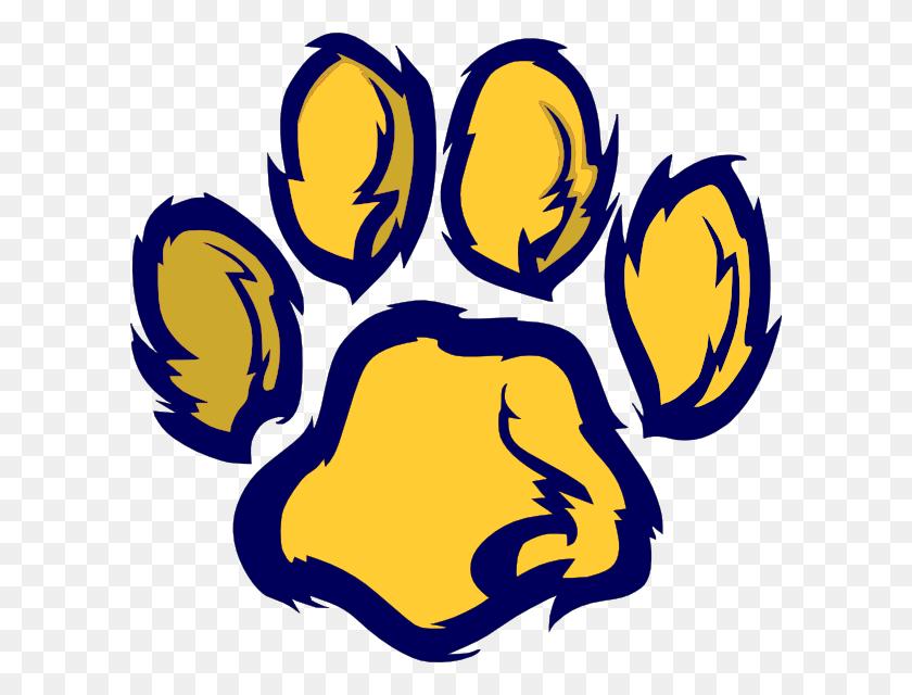 Wildcat Paw Clip Art - Wildcat Paw Clipart