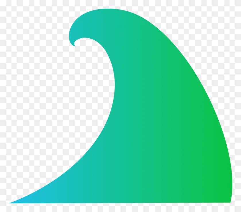 Wind Wave Wave Vector Sine Wave Ocean - Sine Wave Clipart