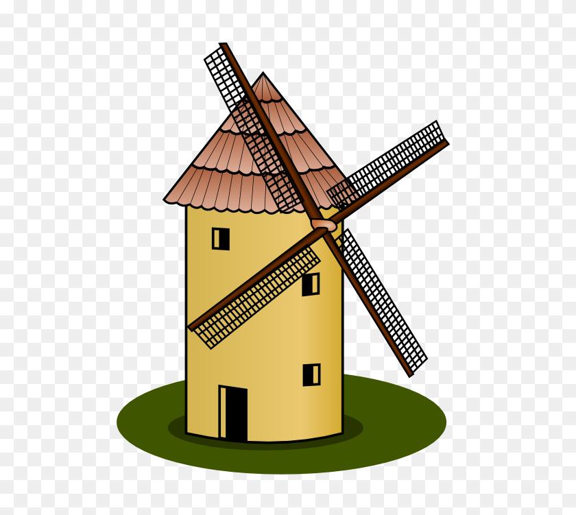 555x691 Windmill Clip Art - Mop Clipart