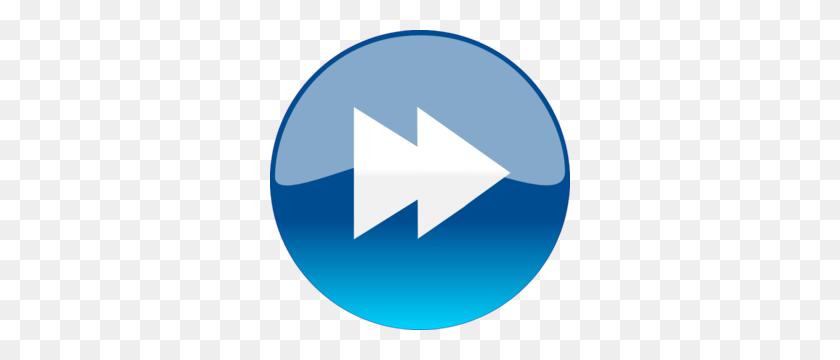 Windows Media Player Skip Forward Button Clip Art - Next Steps Clipart
