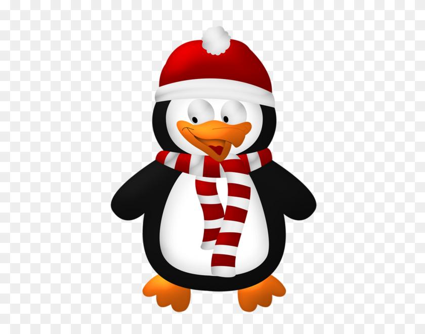 Winter Penguin Clipart Nice Clip Art - Winter Animals Clipart