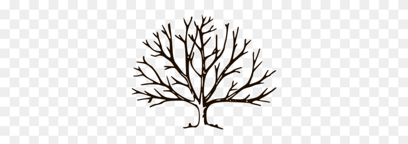 Winter Tree Clip Art - Trees Clipart PNG