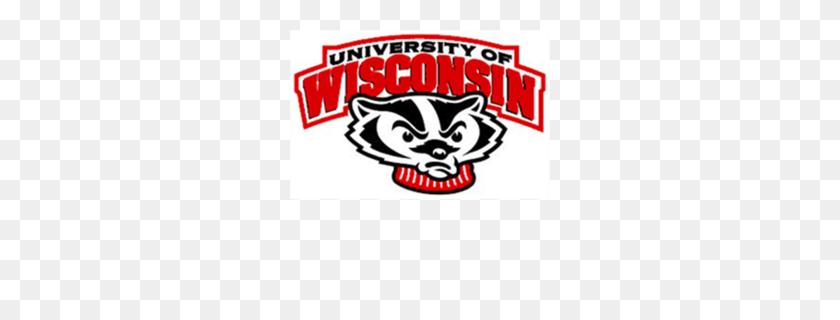 Wisconsin Badgers Softball Clipart - Wisconsin Badger Clipart