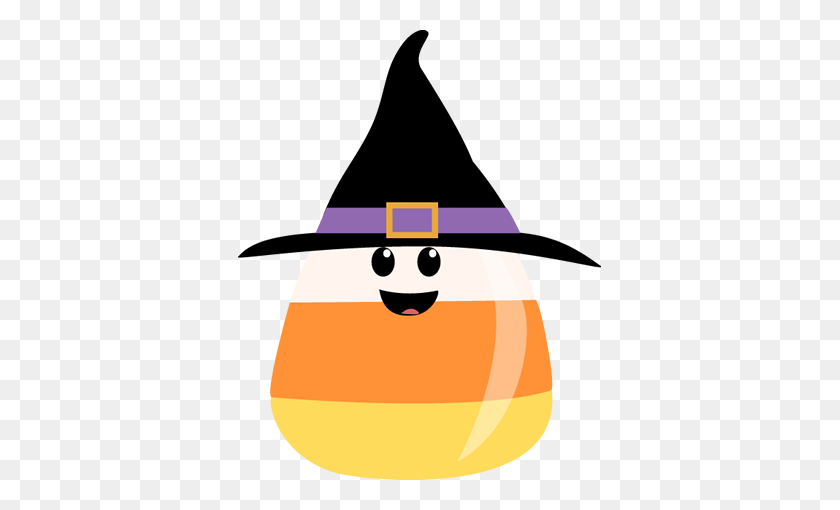 Witch Hat Clipart Cute Halloween Witch - Witch Broom Clipart