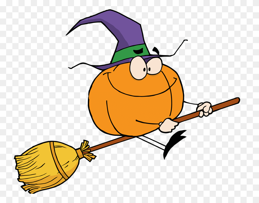 Free Witch Broom Clip Art with No Background - ClipartKey