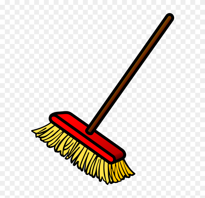 634x750 Witch's Broom Mop Dustpan Cleaning - Mop And Bucket Clipart