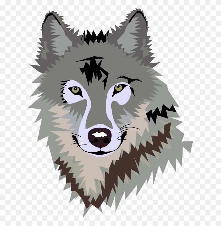 Wolf Clip Art Free Wolf Face Clip Art Zentangle Addiction - Zentangle Clipart