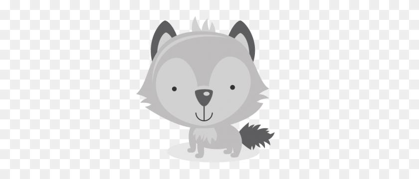 Wolf Clipart Kawaii - Free Kawaii Clipart