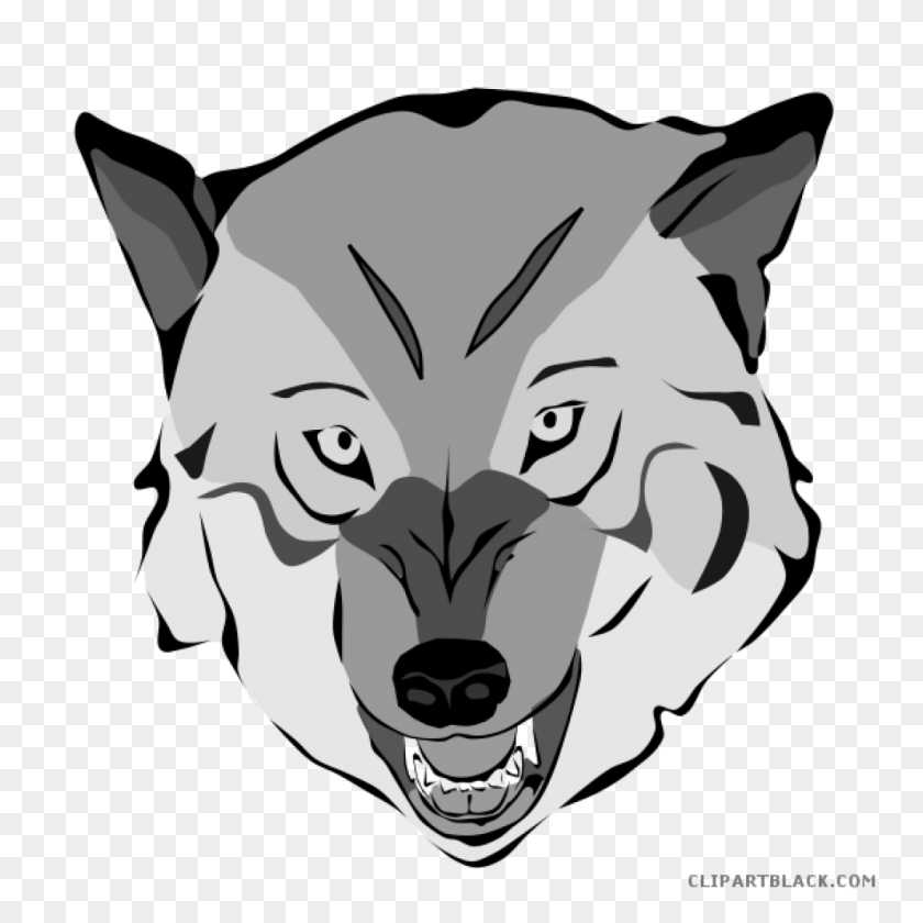 Wolf Face Clipart Bee Clipart House Clipart Online Download - Shark Head Clipart