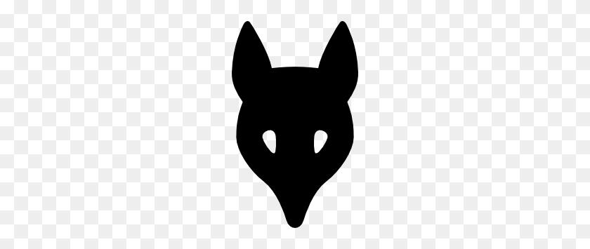Wolf Head Silhouette Clip Art - Rabbit Silhouette Clip Art