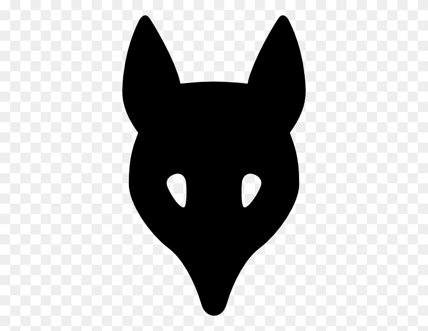 Wolf Head Silhouette Clip Art Free Vector - Romeo Clipart