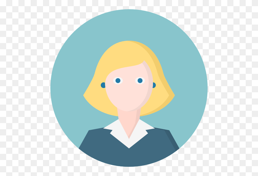 Woman, Blonde, Blue Eyes, People, Avatar, Person, Human Icon Free - Person PNG Icon