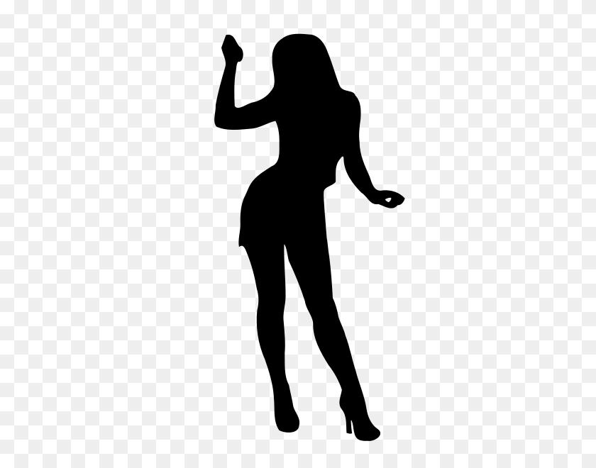 Woman Silhouette Clip Art - Woman Clipart