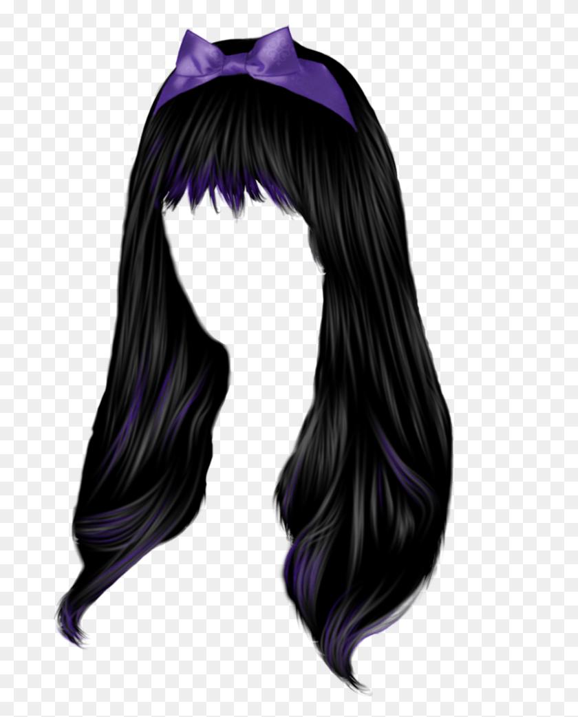 Women Hair Png Image - Long Hair PNG