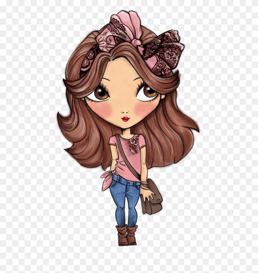 Women Transparent Png Images - Cartoon Girl PNG
