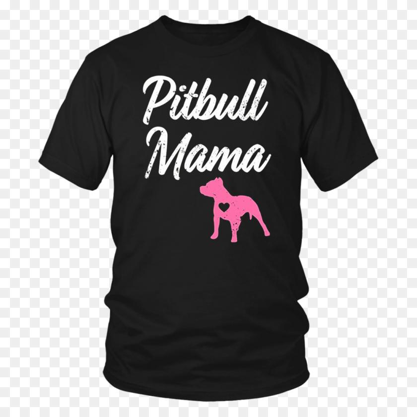 Womens Pitbull Mama Funny Womens Pit Bull Mom Pit Bull Pink T - Pitbull PNG