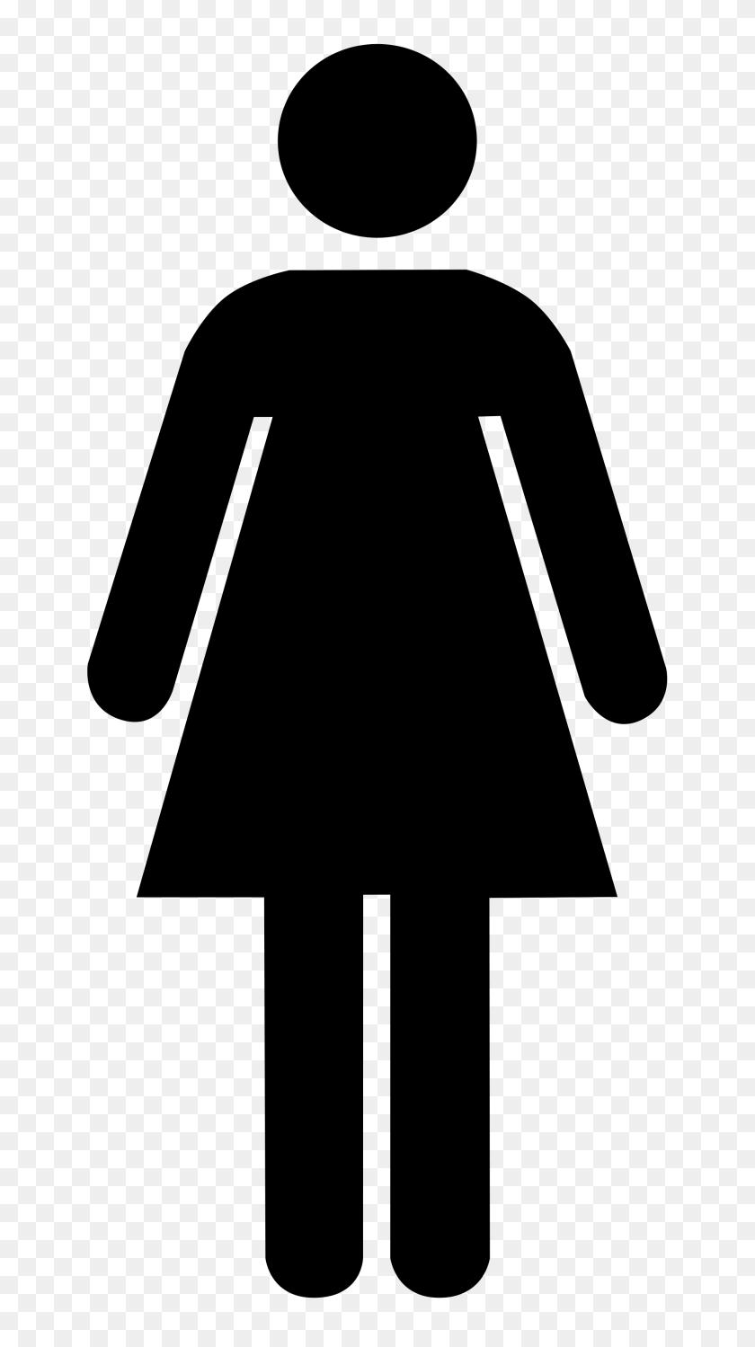 Ladies Bathroom: Free Printable Restroom Signs Clipart