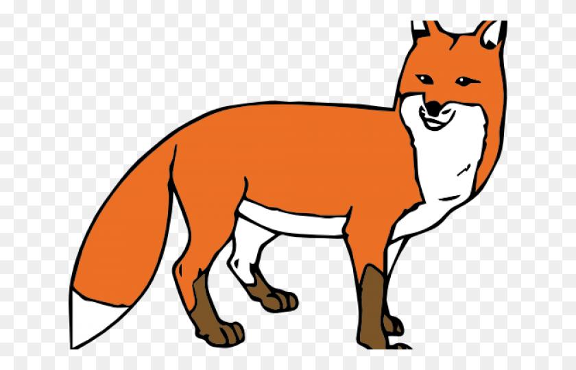 Woodland Clipart Gray Fox, Woodland Gray Fox Transparent Free - Woodland Fox Clipart