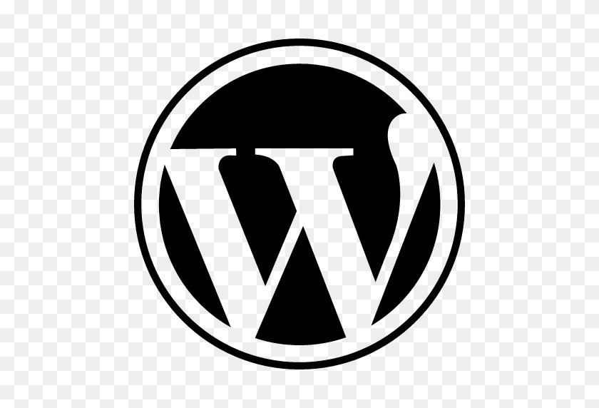 512x512 Wordpress Logo Png Clipart - Logo PNG