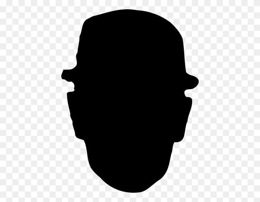 Worker Wearing Hard Hat Silhouette Clip Art - Hard Work Clipart