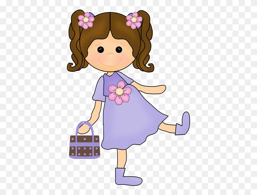 404x579 Wp Dva Cute Girls Girls, Clip Art - Baby Girl PNG