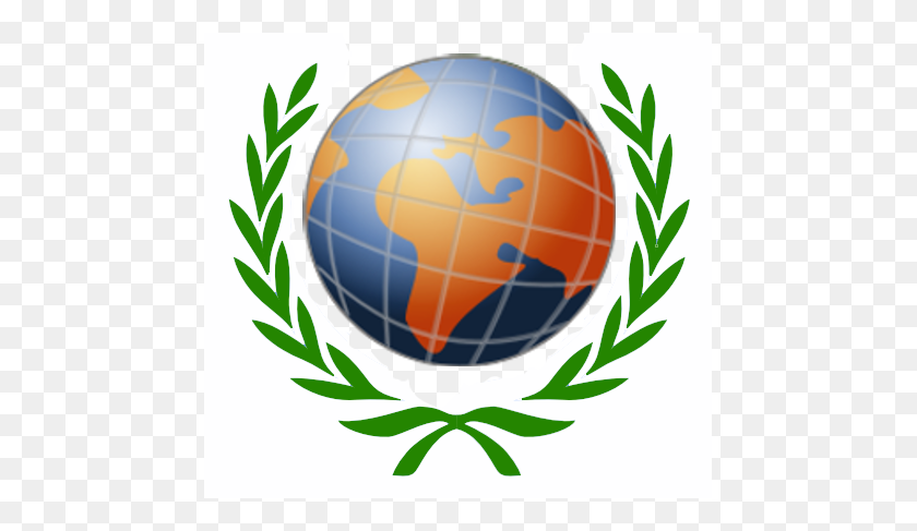 Wreath Globe - Globe PNG