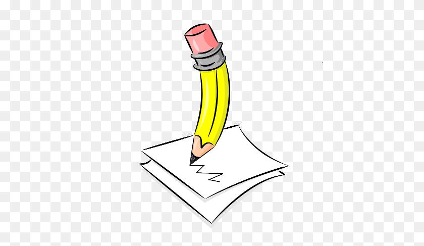 Write Pencil Writing Clip Art Clipartfest - Writing Clipart