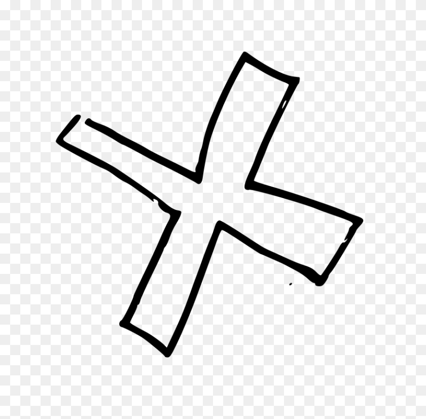 Wrong Cross Clipart Black And White, Cross Clip Art Free Download - Ornate Cross Clipart