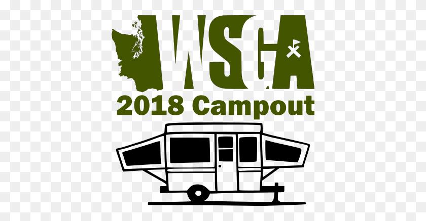 Wsga Campout Dry Rv Site - Rv Camping Clipart