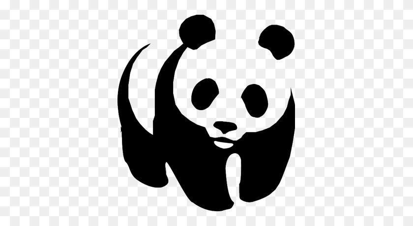 Wwf Panda Transparent Png - Pandas PNG
