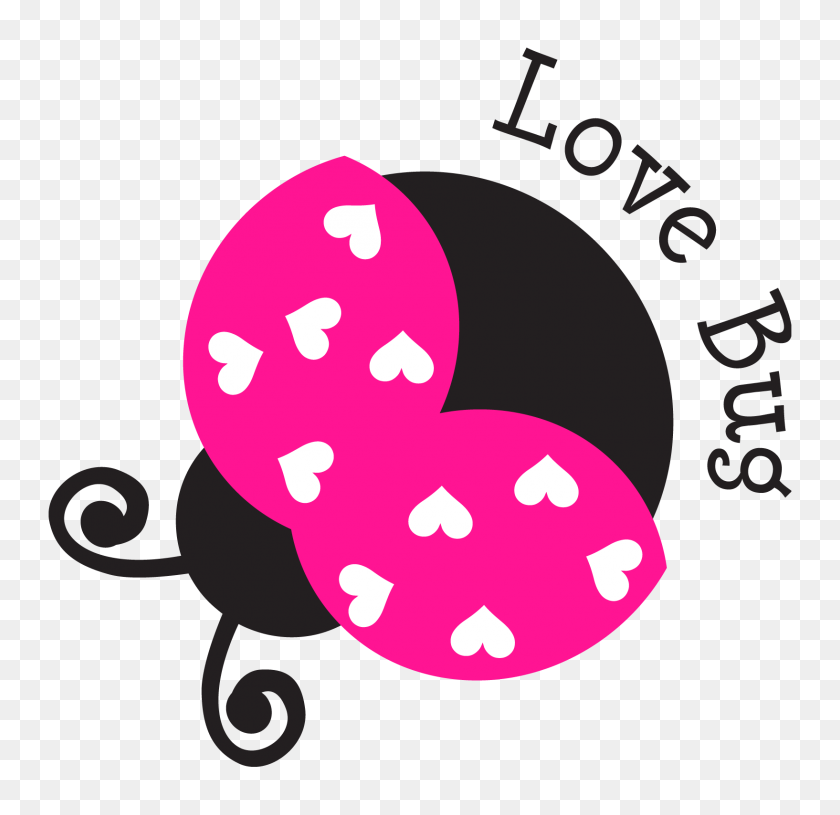 X Kids Insects - Love Bug Clip Art