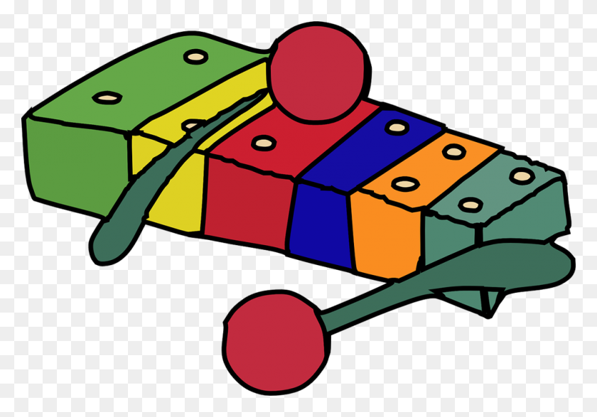 Xylophone Clipart - Marimba Clipart