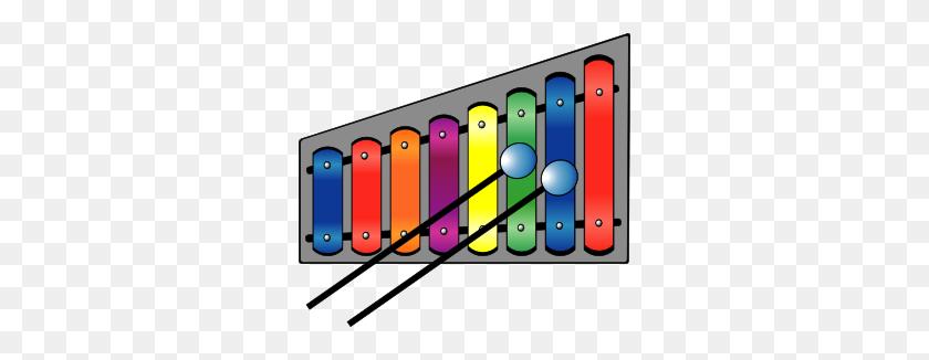 300x266 Xylophone Colourful Clip Art - Maracas Clipart
