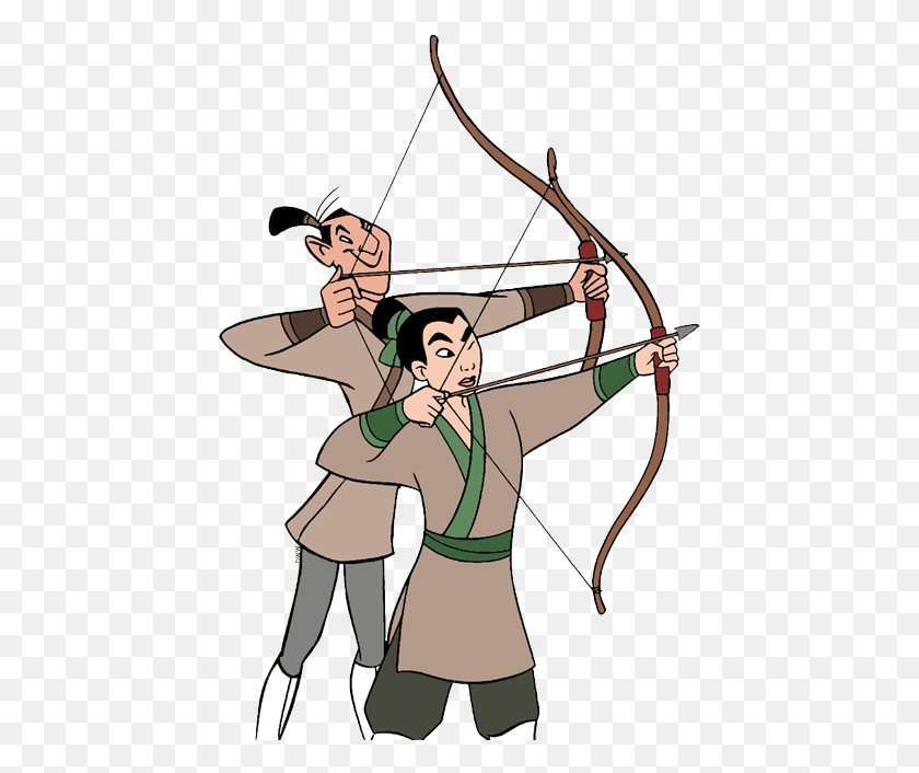 Yao Ling And Chien Po Clip Art Disney Clip Art Galore Archery Bow Clipart Stunning Free Transparent Png Clipart Images Free Download