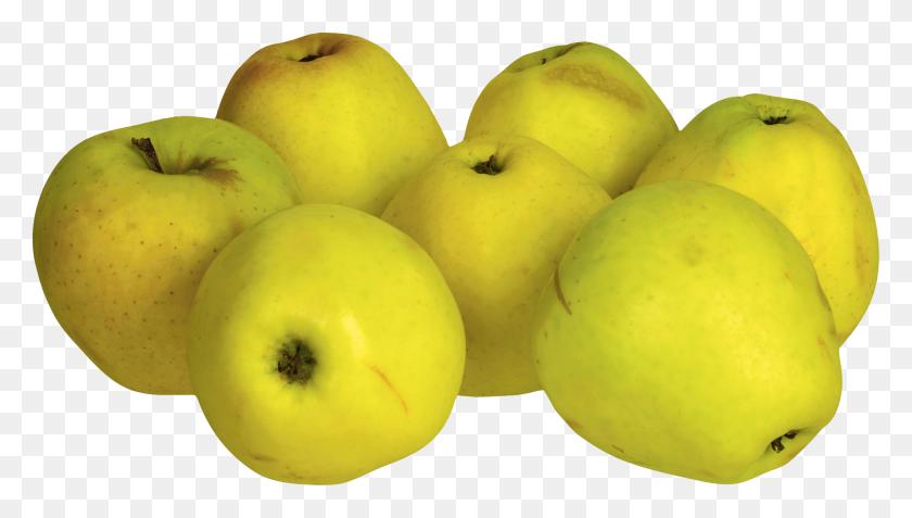 Yellow Apple Clip Art - Yellow Apple Clipart