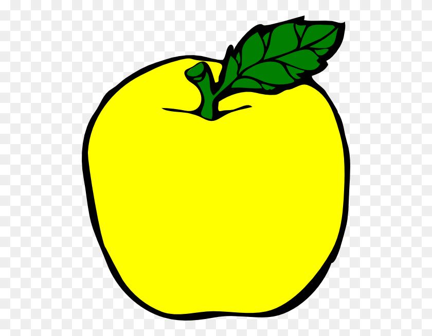 Yellow Apple Clip Art - Apple Watch Clipart