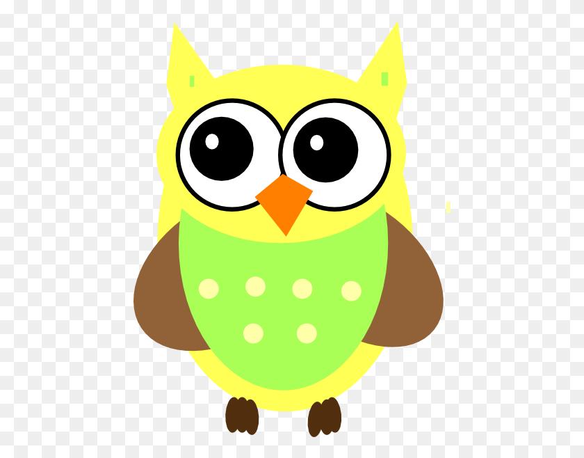 Yellow Baby Owl Clip Art - Baby Owl Clipart