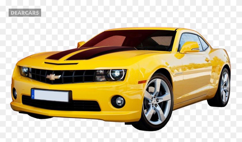 Yellow Camaro Png Image - Camaro PNG