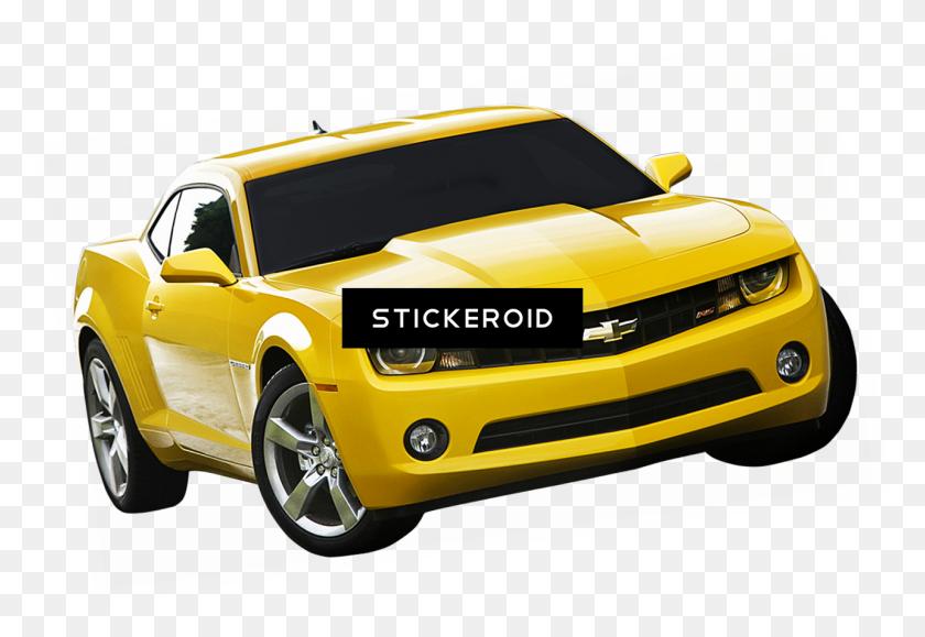 Yellow Camaro Transparent Background - Camaro PNG