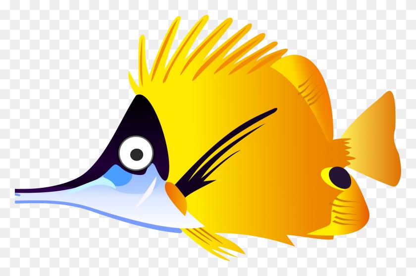 Yellow Cartoon Fish Icons Png - Cartoon Fish PNG