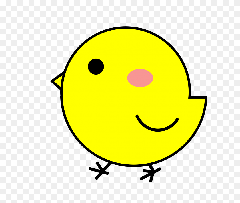 2400x2000 Yellow Chick Drawing Vector Clipart Image - Chick Images Clip Art