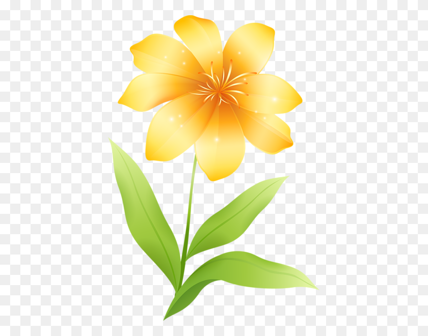 Yellow Flower Clipart Flowers Flowers, Flower - Yellow Flower Clipart