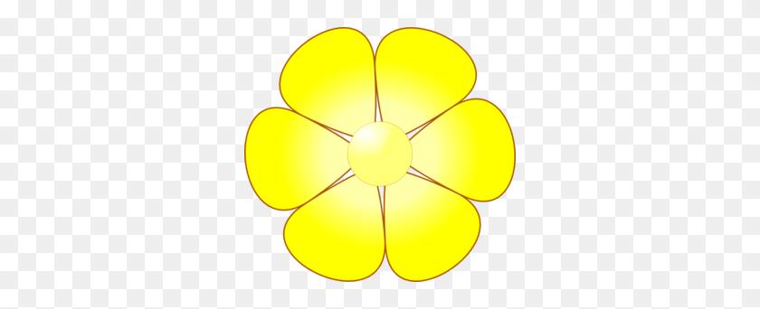 Yellow Flower Easter Birthday Yellow Flowers - Yellow Flower Clipart