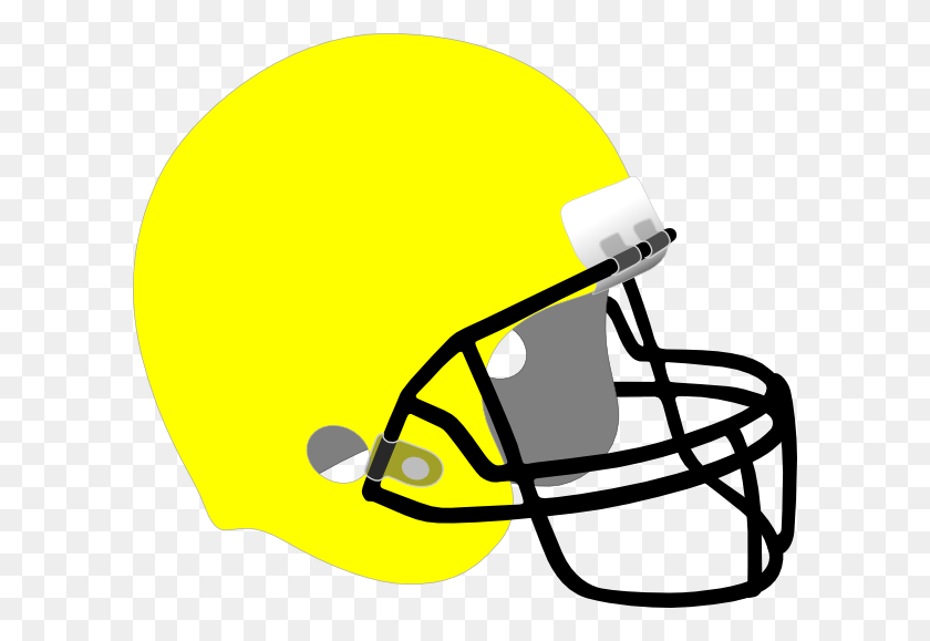 Yellow Football Helmet Clipart - Nfl Football Helmet Clipart