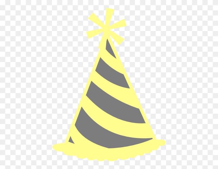 Christmas Hat Clipart Transparent Background.Yellow Gray Party Hat Clip Art Party Hat Clipart