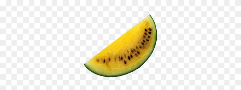 Yellow Melon Fruit Watermelon Melon Food Yellow Fruitsalad - Melon PNG